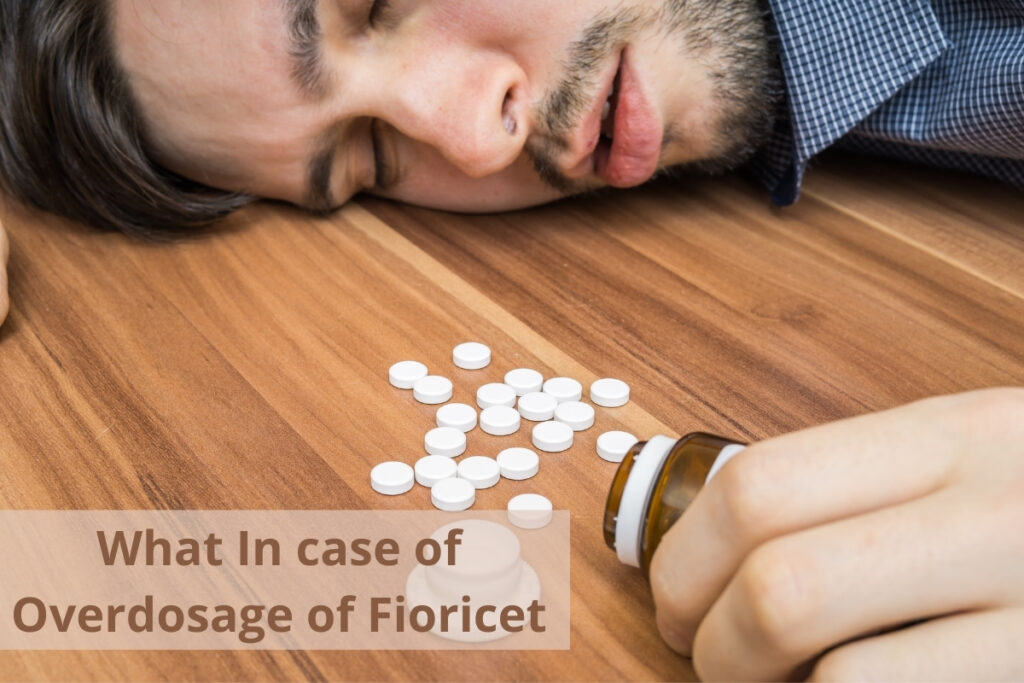 what does fioricet have in it, Excess of anything is bad, as we all are very familiar with this phrase. Over dosage of Fioricet can be fatal and can cause a very painful end of the patient. Here are the some we discuss some conditions that may occur in a patient while taking medication of Fioricet.